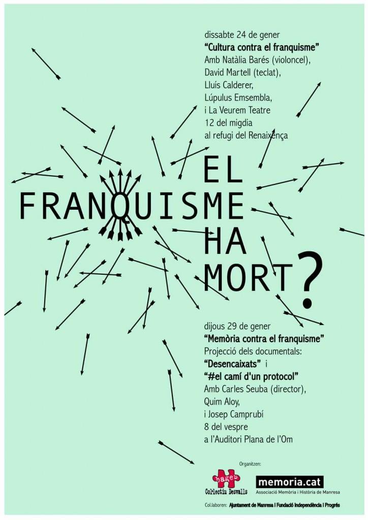 cartell el franquisme ha mort