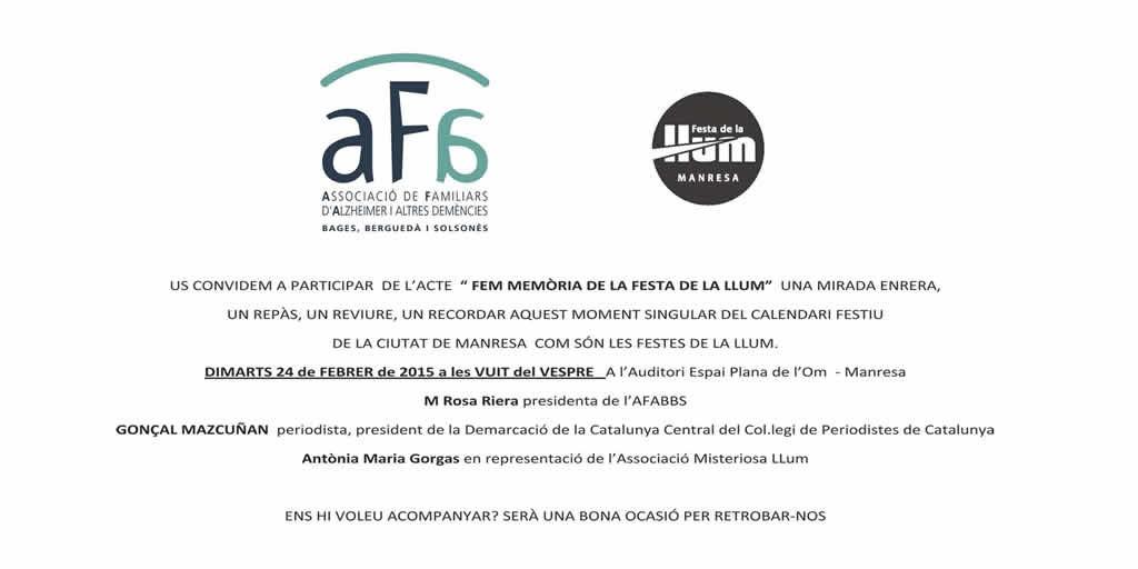 FEM MEMÒRIA DE LA FESTA DE LA LLUM