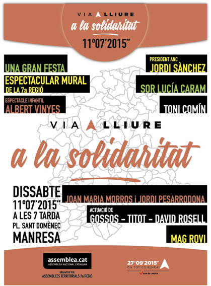 Via lliure a la solidaritat!